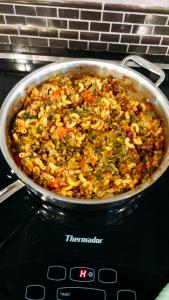 Chili-Veggie Pasta Skillet