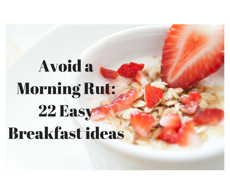 In a Breakfast Rut?