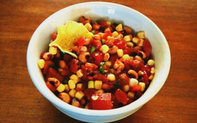 Super Bowl Dip: Corn and Black-Eye Salsa