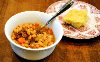 Nourishing Navy Bean Soup