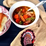 Turkey Frame Soup